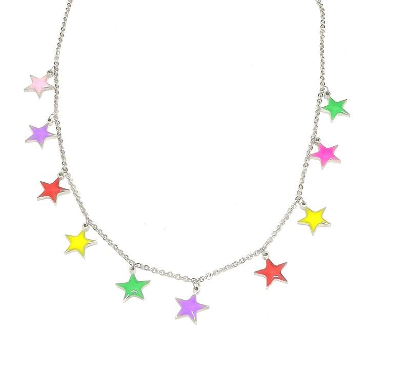 Necklace stars