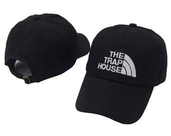 81e9ba834bca4 Black The Trap House Baseball Cap
