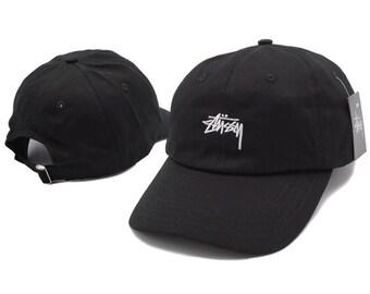 348a8338c5c Black Stussy Cap