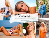Colorful LR Preset by @theblondish