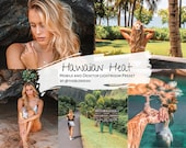 Hawaiian Heat Lightroom Preset by THEBLONDISH