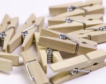20 Stk Metall Bulldog Clips 32mm Wäscheklammern Papierklammer Binderclips