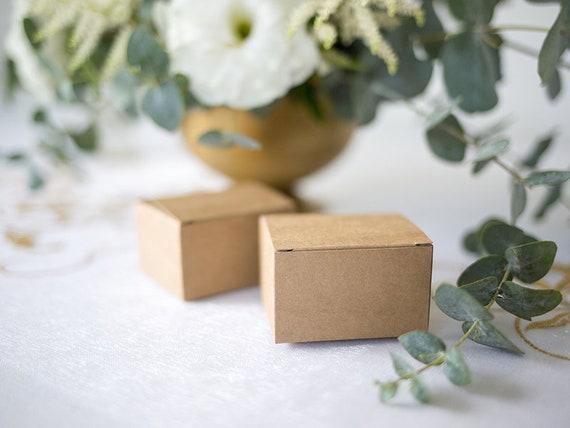 50x Pralinenschachtel Papier Kissen Geschenkboxen Hochzeit Gastgeschenke Taschen