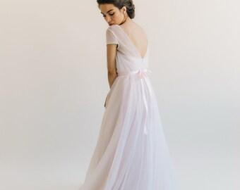 707cbbce1 Simple wedding gown