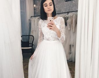 4de706fca8b Short wedding dress
