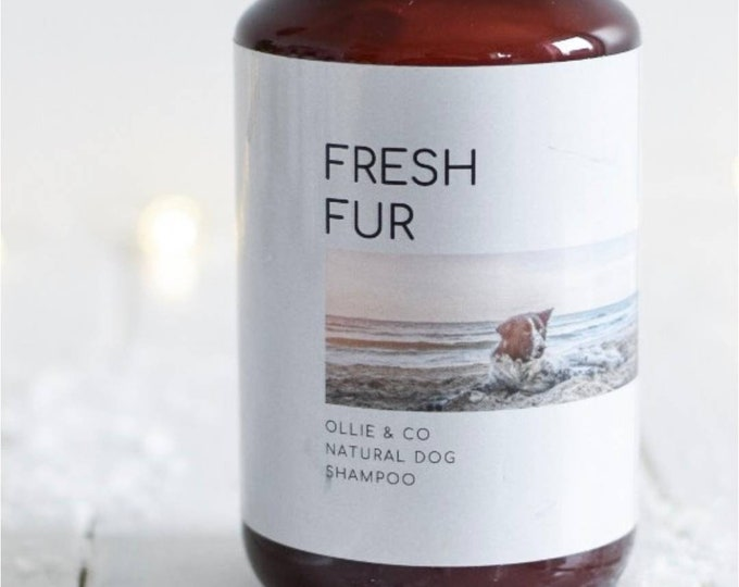 Ollie + Co | Fresh Fur Natural Dog Shampoo with Lavender