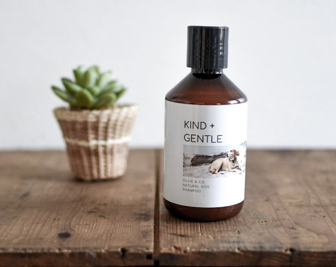 KIND + GENTLE Natural Dog Shampoo by Ollie + Co