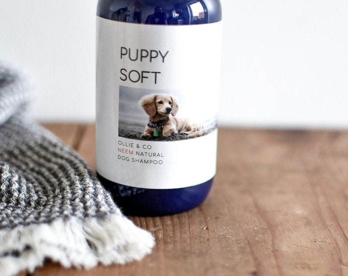 PUPPY SOFT Natural Dog Shampoo By Ollie + Co.