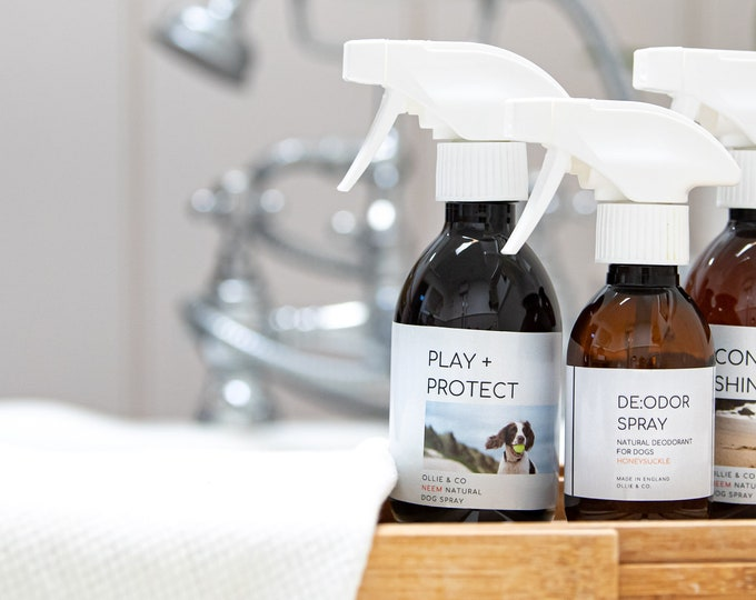 PLAY + PROTECT Spray for Dogs By Ollie + Co.