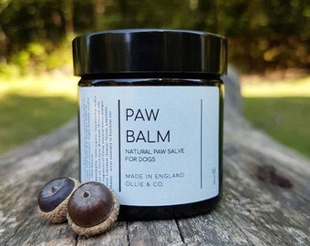 Natural Beeswax Dog Paw Balm by Ollie + Co.