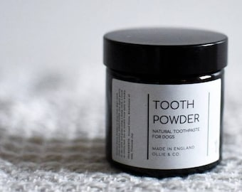 Natural Dog Tooth Powder by Ollie + Co