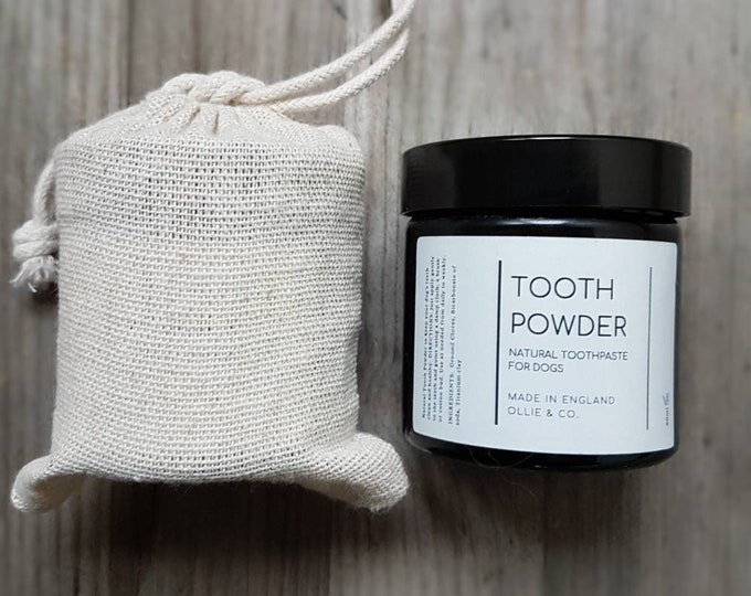 Set 》Natural Beeswax Dog Paw Balm & Natural Dog Tooth powder by Ollie + Co