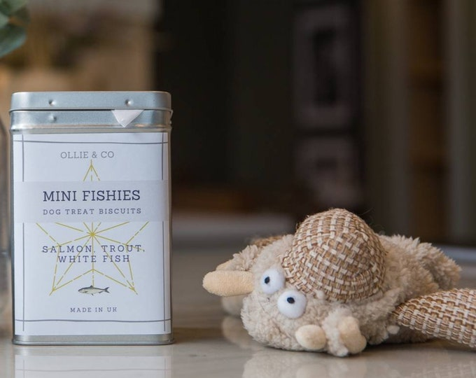Mini Fishies - Tasty Mini Fish Treats for Dogs by Ollie & Co  (500g)