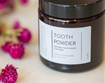 Natural Dog Tooth Powder by Ollie & Co