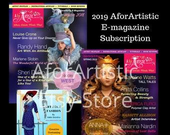 E-Magazine - 2019 AforArtistic Subscription Plus Bonus