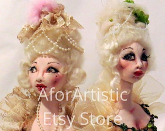E-Class - Marie Antoinette Bust by Sharon Mitchell
