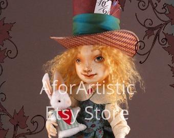 E-Class Alice Souvenirs from Wonderland by Angela Jarecki, ODACA Artist