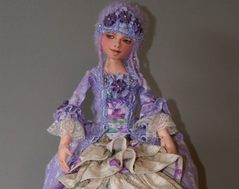 E-Class - Mistique (Cloth Ball Jointed Doll) By Marla Niederer, Cloth Doll Artist