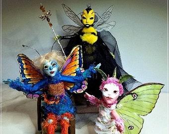 E-Class - How To Make Your Own Bug Fairy by Leann Marshall, Polymer Clay Artist