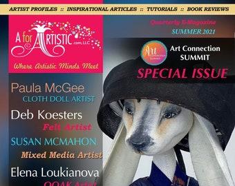 "E-Magazine - 2021 Summer Issue AforArtistic Quarterly ""Special Art Connection Summit Showcasing the Teachers"""