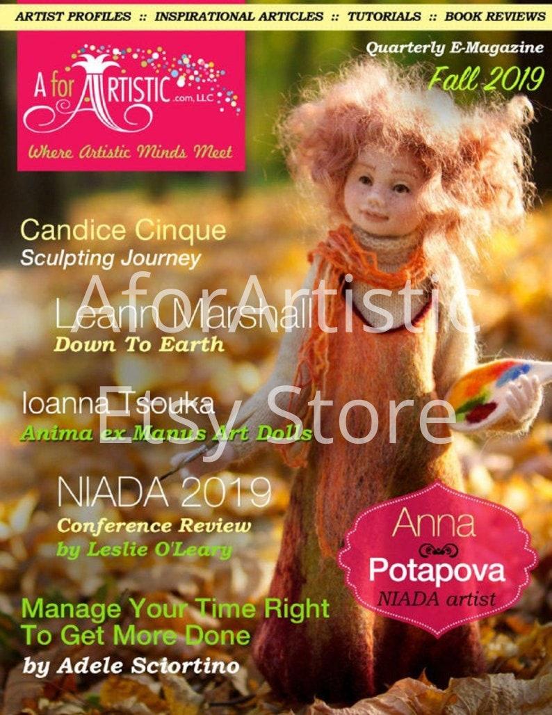 E-Magazine  2019 Fall Issue AforArtistic Quarterly image 0