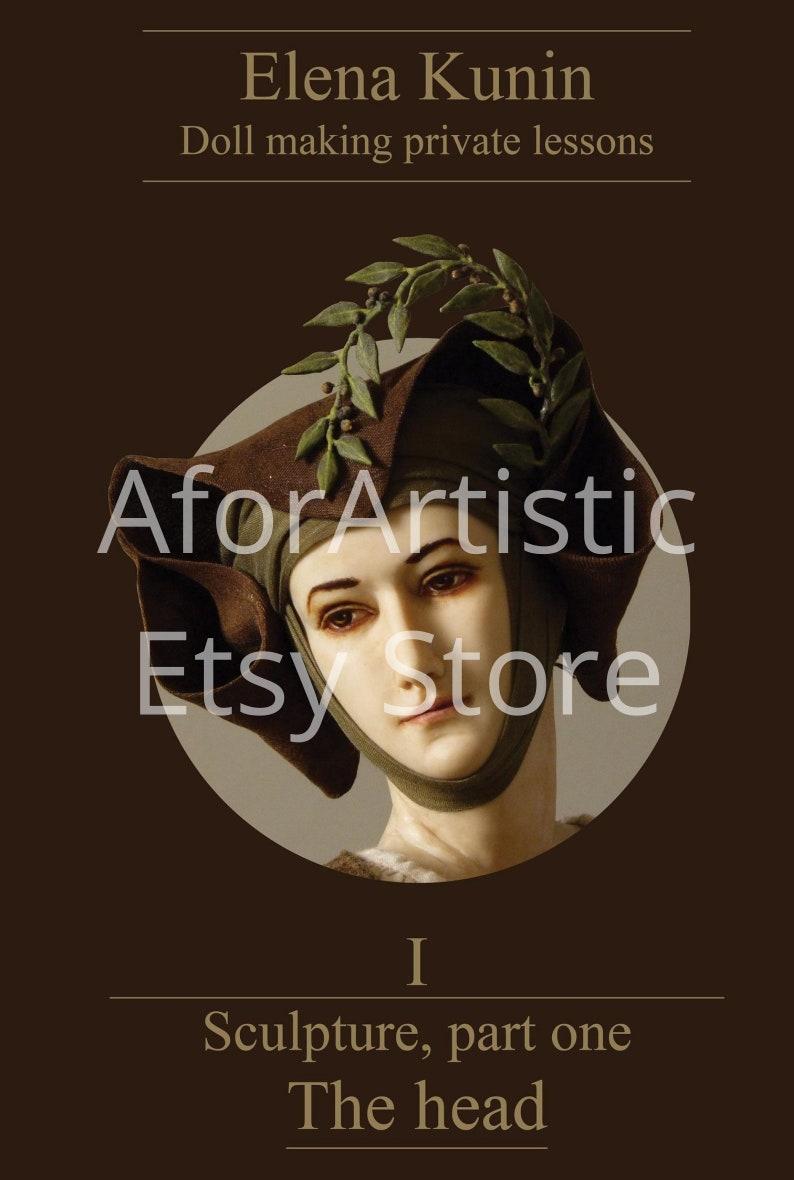 E-Book  Sculpture Part 1 The Head By Elena Kunin image 0