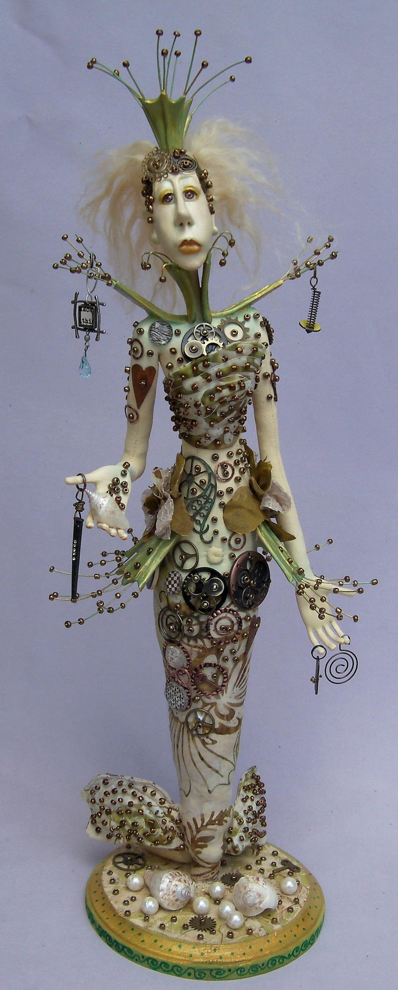 Metalmaid E-Class by Linda Hollerich Paper Clay Artist image 0