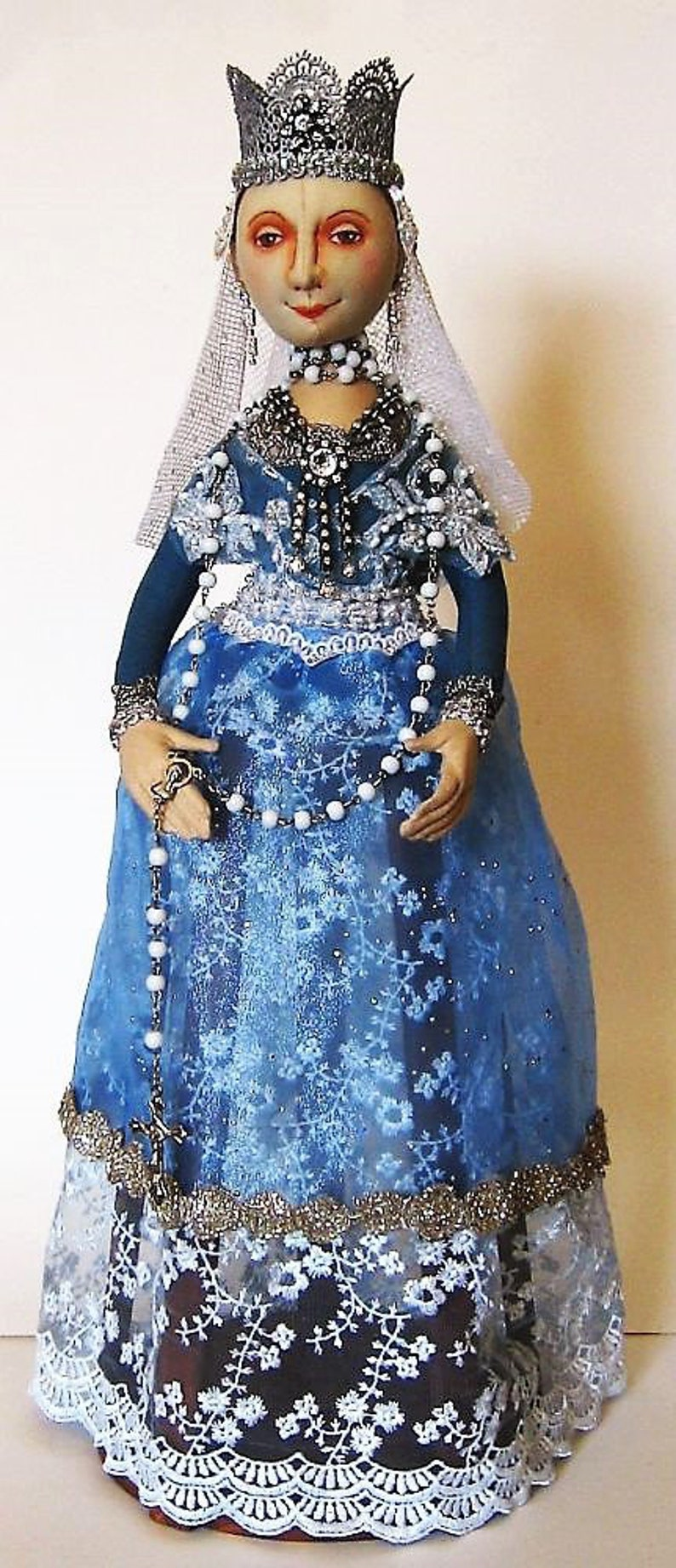 Cloth Doll Artist ISABELLA SANTOS /& Cage E-Pattern By Arley Berryhill