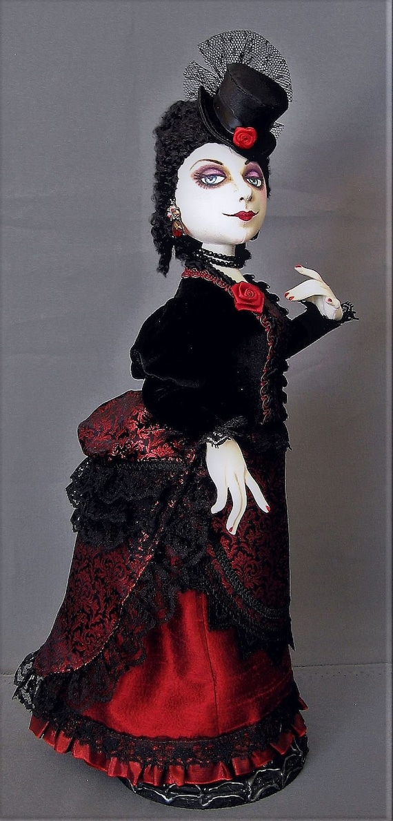 """/""""La Femme/"""" Cloth Doll Pattern By Arley Berryhill"""