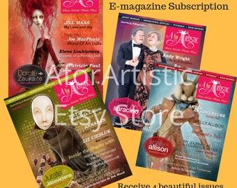 E-Magazine - 2016 AforArtistic Quarterly