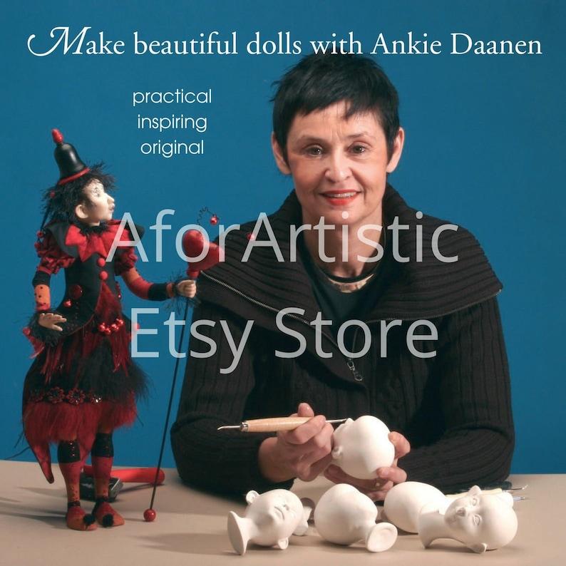 E-Book  Make Beautiful Dolls with Ankie Daanen NIADA Artist image 0