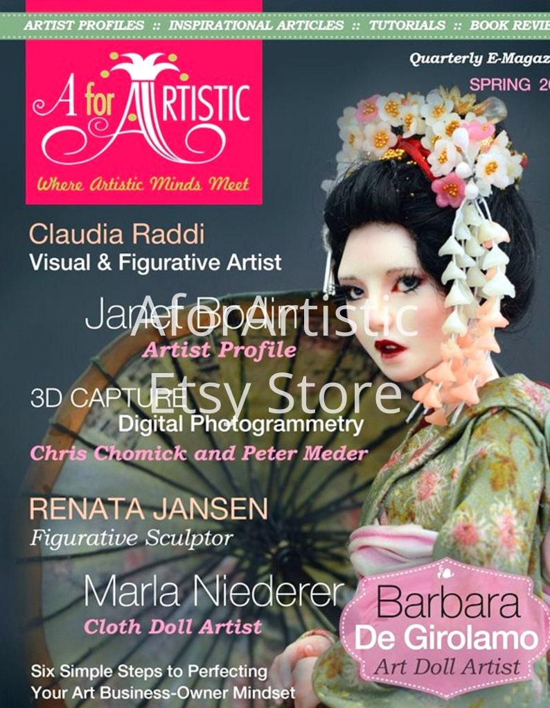 E-Magazine  2017 Spring Issue  AforArtistic Quarterly image 0