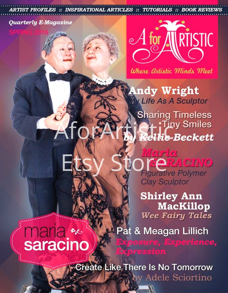 E-Magazine  2016 Spring Issue  AforArtistic Quarterly image 0