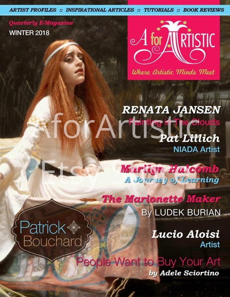 E-Magazine  2018 Winter Issue AforArtistic Quarterly image 0