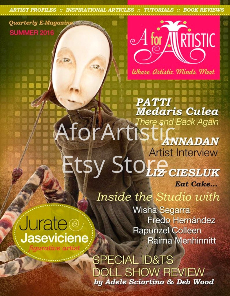 E-Magazine 2016 Summer  Issue AforArtistic Quarterly image 0