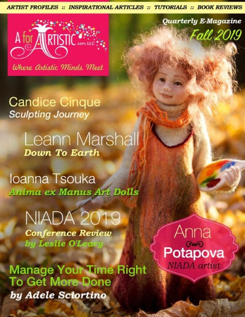 2019 Fall Issue AforArtistic Quarterly E-Magazine image 0