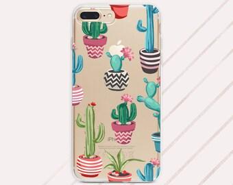 af4873d374 Cactus iPhone case cute cacti pots clear iPhone Xs max cactus case iPhone 8  plus protective silicone case iPhone Xr cactus case cacti Note 9