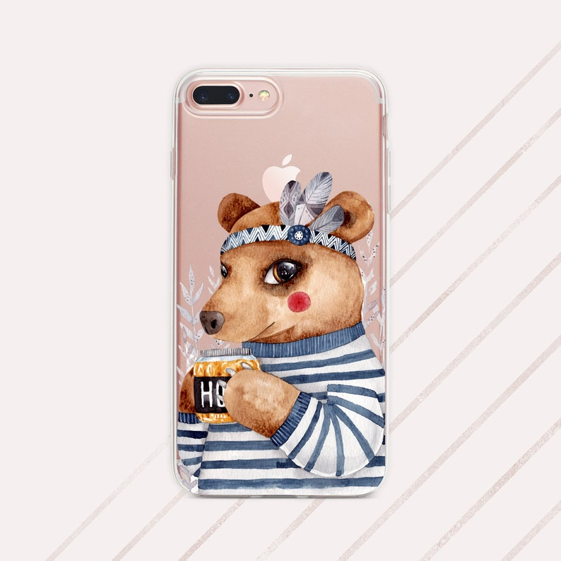 cute bear iphone xs case