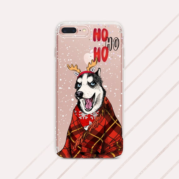Christmas Phone Case Husky Iphone 11 Case Christmas Iphone Xs Max Case Husky Case Samsung S10 Case Iphone 10 Case Christmas Case Husky Phone