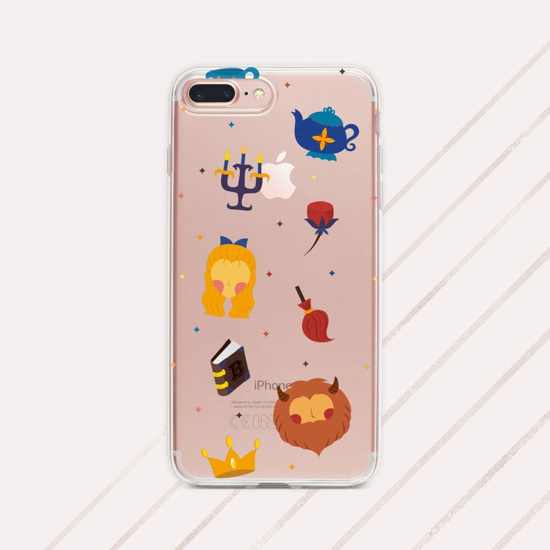 iphone 8 case disney beauty and the beast