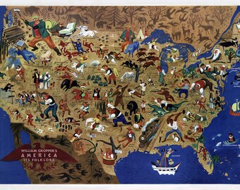 World map 1946 | Etsy