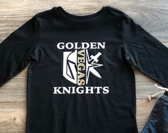 "Las Vegas Golden Knights Stanley Cup /""LOGO/"" T-Shirt"