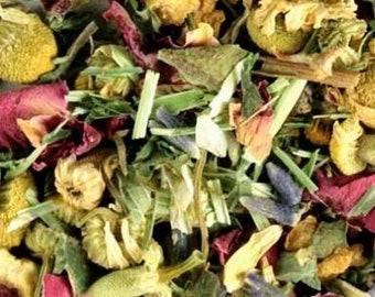 Feel Fabulous Herbal Organic Tea Caffeine Free Loose Leaf