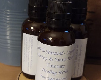 Allergy and Sinus Immune Support Herbal Tincture