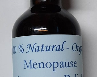 Menopause Symptom Relief Women's Health Tincture MCT Oil Extract