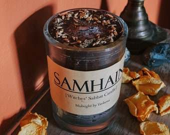 """The Witches Sabbat """"Samhain"""" Candle"""