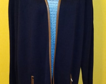 1e9bfca21ac Charter Club Navy Jacket   Dressbarn Blue Blouse