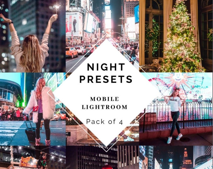 Magic Night Presets Pack of 4