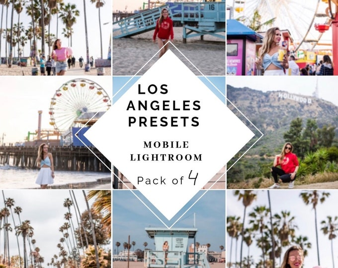 Magic Los Angeles Presets Pack of 4