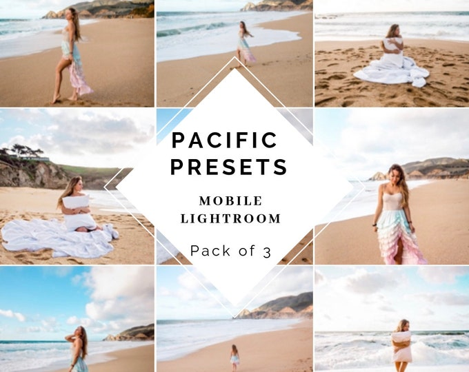 Magic Pacific Presets Pack of 3